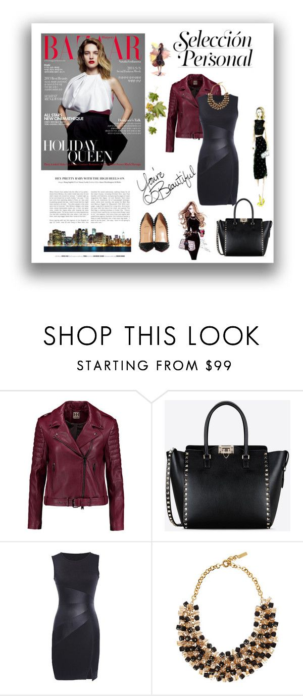 """""""Untitled #379"""" by missozlems ❤ liked on Polyvore featuring Haute Hippie, Valentino, Etro, LIST, Christian Louboutin, women's clothing, women, female, woman and misses"""