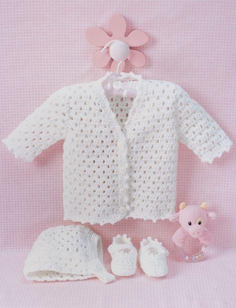 FREE Baby Set Crochet Patterns