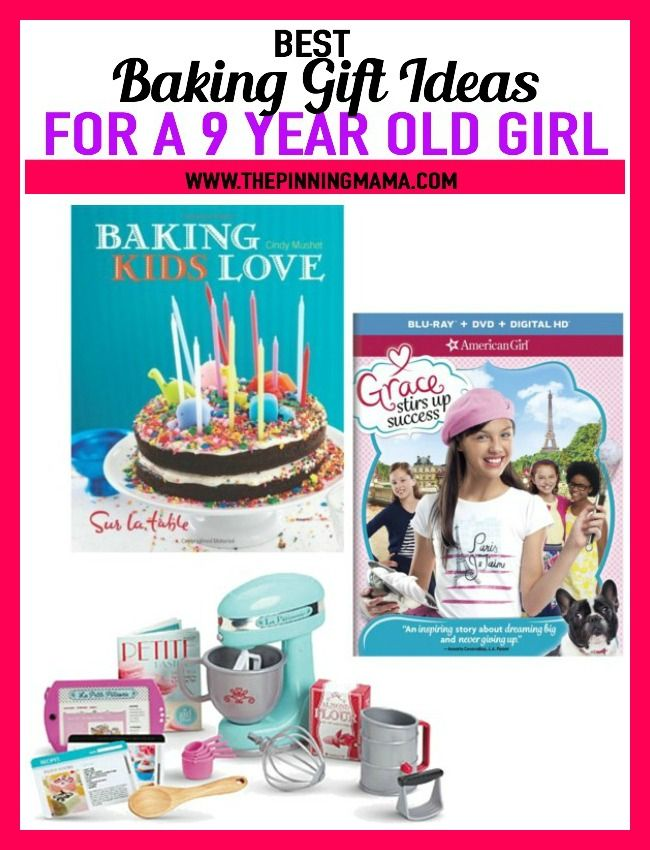 42384d369f8 Baking Gift Ideas for a 9 year old girl- see 25+ of the best gift ideas for  birthday or Christmas and anything in between