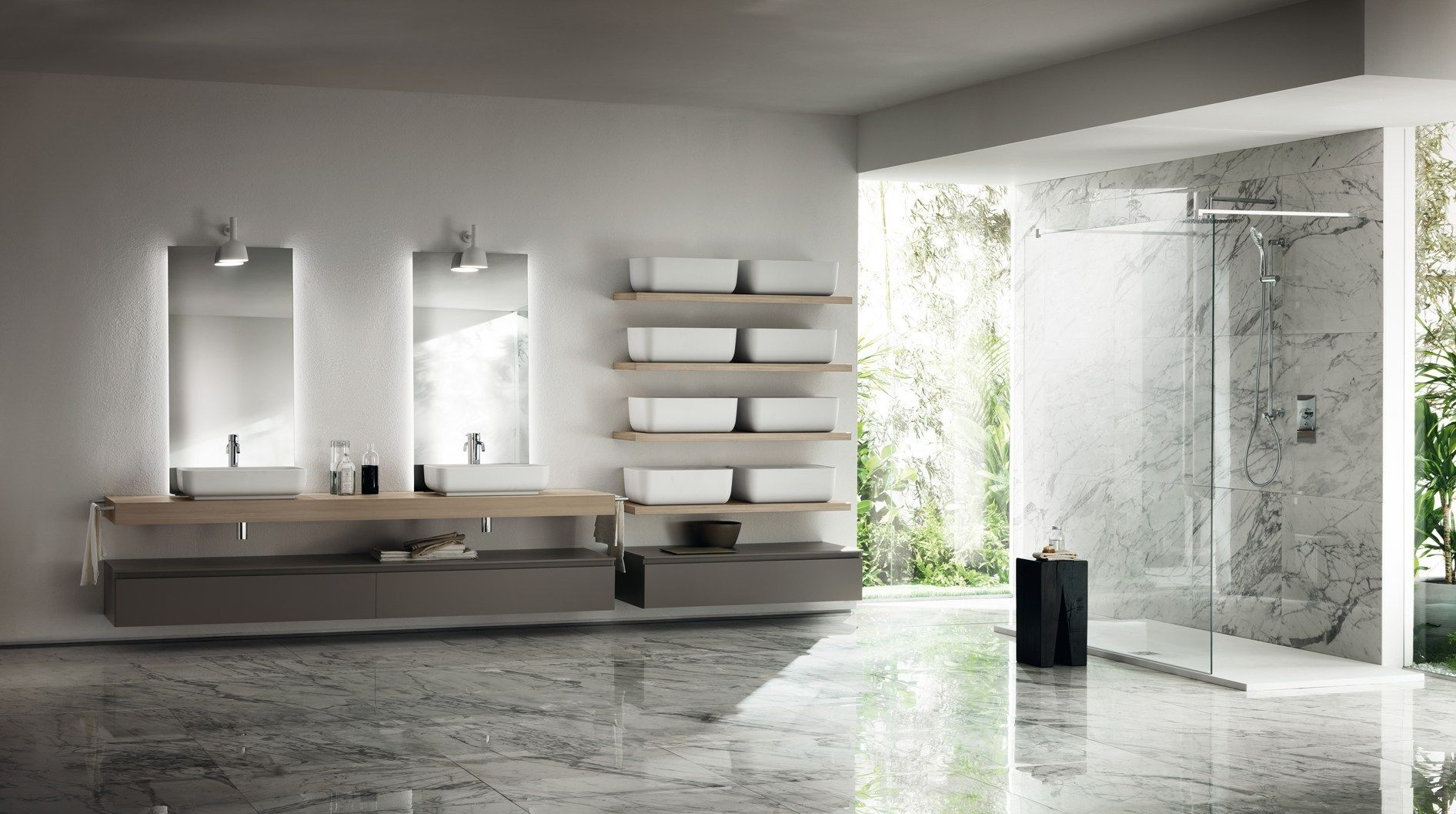 Comment Agencer Sa Salle De Bain scavolini with nendo and diesel at cersaie a complete range
