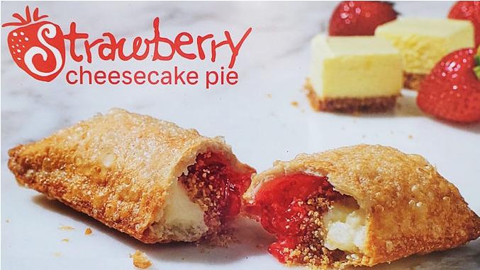 Popeyes Adds New Strawberry Cheesecake Pie