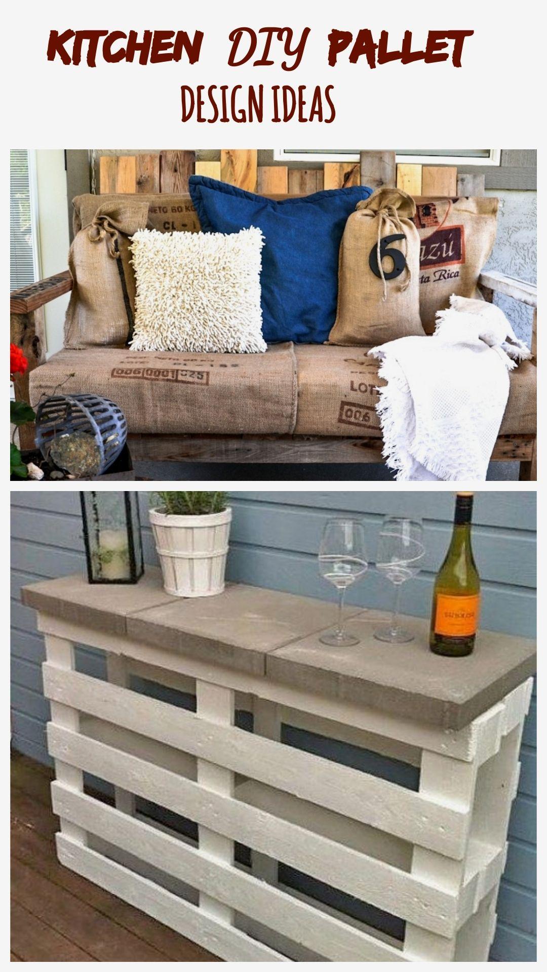 Kitchen Diy Pallet Design Ideas In 2020 Diy Kitchen Pallet