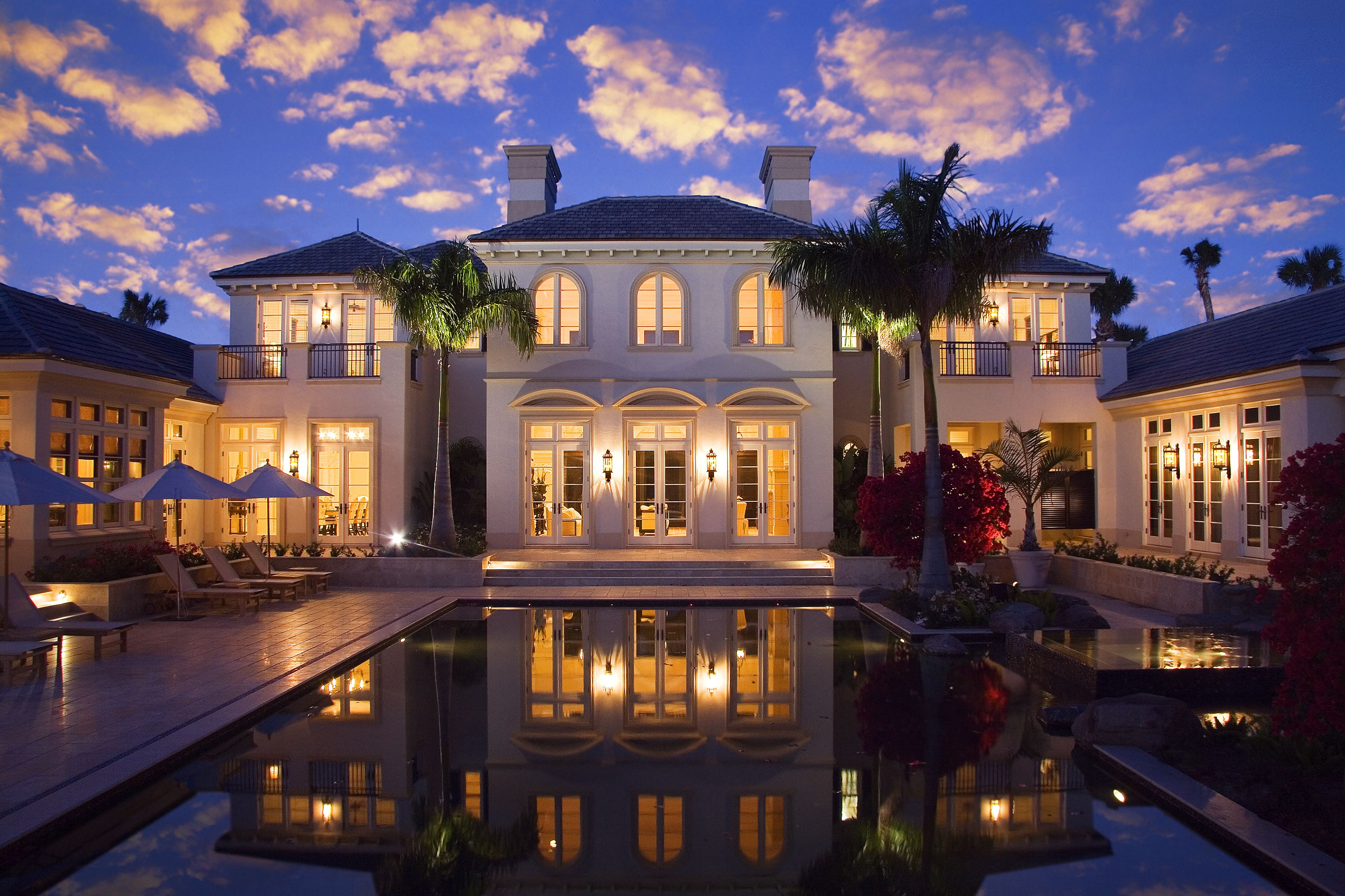 Modern Mansion Jupiter Fl In 2020 Mansions Modern Mansion