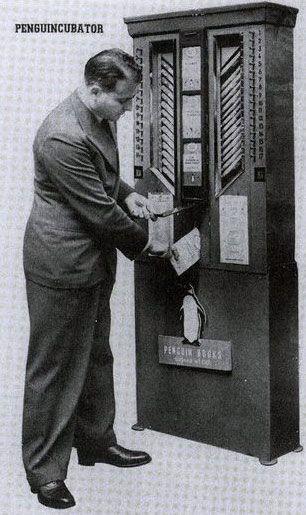 The 1937 Vending Machine for Books