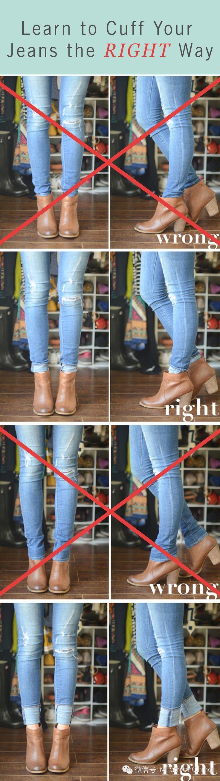 5139ca81 Cómo lucir correctamente tus botas al tobillo con jeans ...