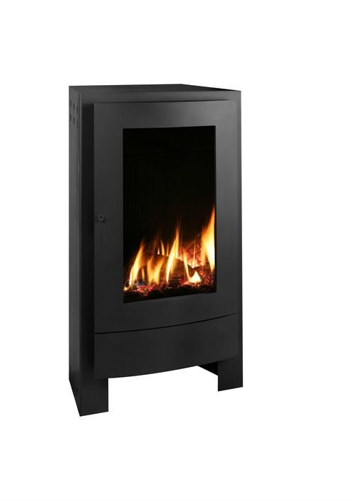 Contemporary Freestanding Fireplace from Max Blank, Model: Nestor Martin  RH35 Gas Stove by Fiamma. Direct Vent ... - Contemporary Freestanding Fireplace From Max Blank, Model: Nestor