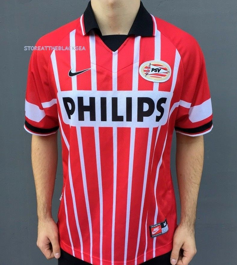 PSV EINDHOVEN 1997 1998 HOME FOOTBALL SOCCER SHIRT JERSEY