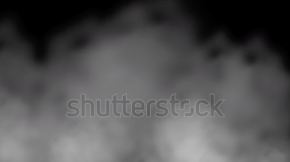 Animated Smoke Against a Black Stock Footage Video (100