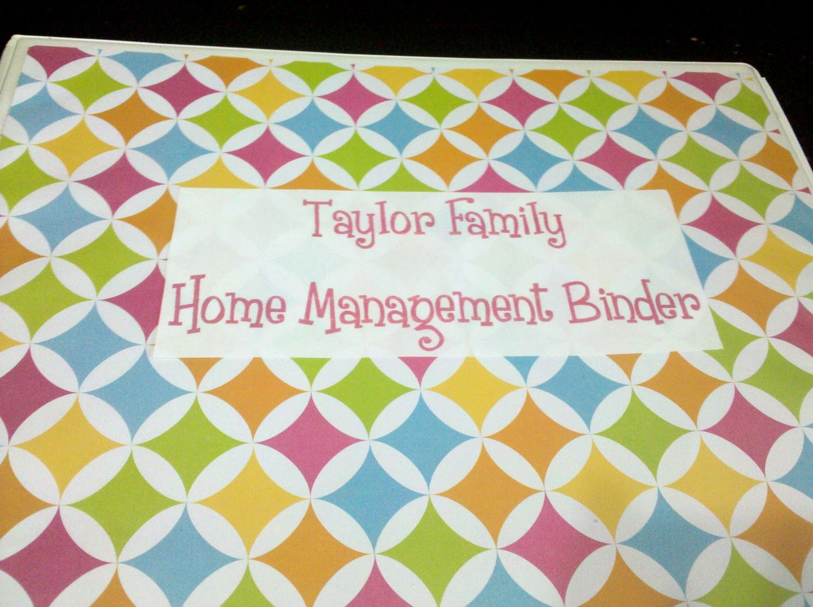 Home management binder taylor made home the blog home