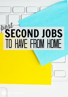 Second Job Ideas From Home