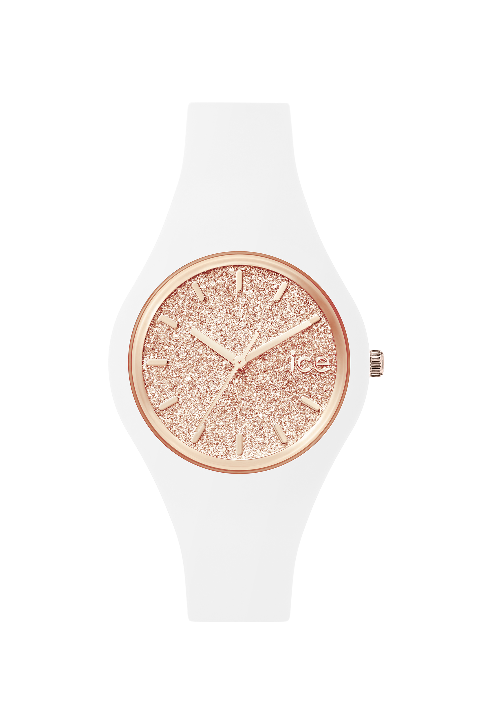 Need a beautiful watch? Look at ICE glitter - White Rose-Gold . Buy it for 99€ or £77 on Ice-Watch Official Webstore: https://www.ice-watch.com/be-en/ice/ice-glitter-p-26724.htm?coul_att_detailID=318&