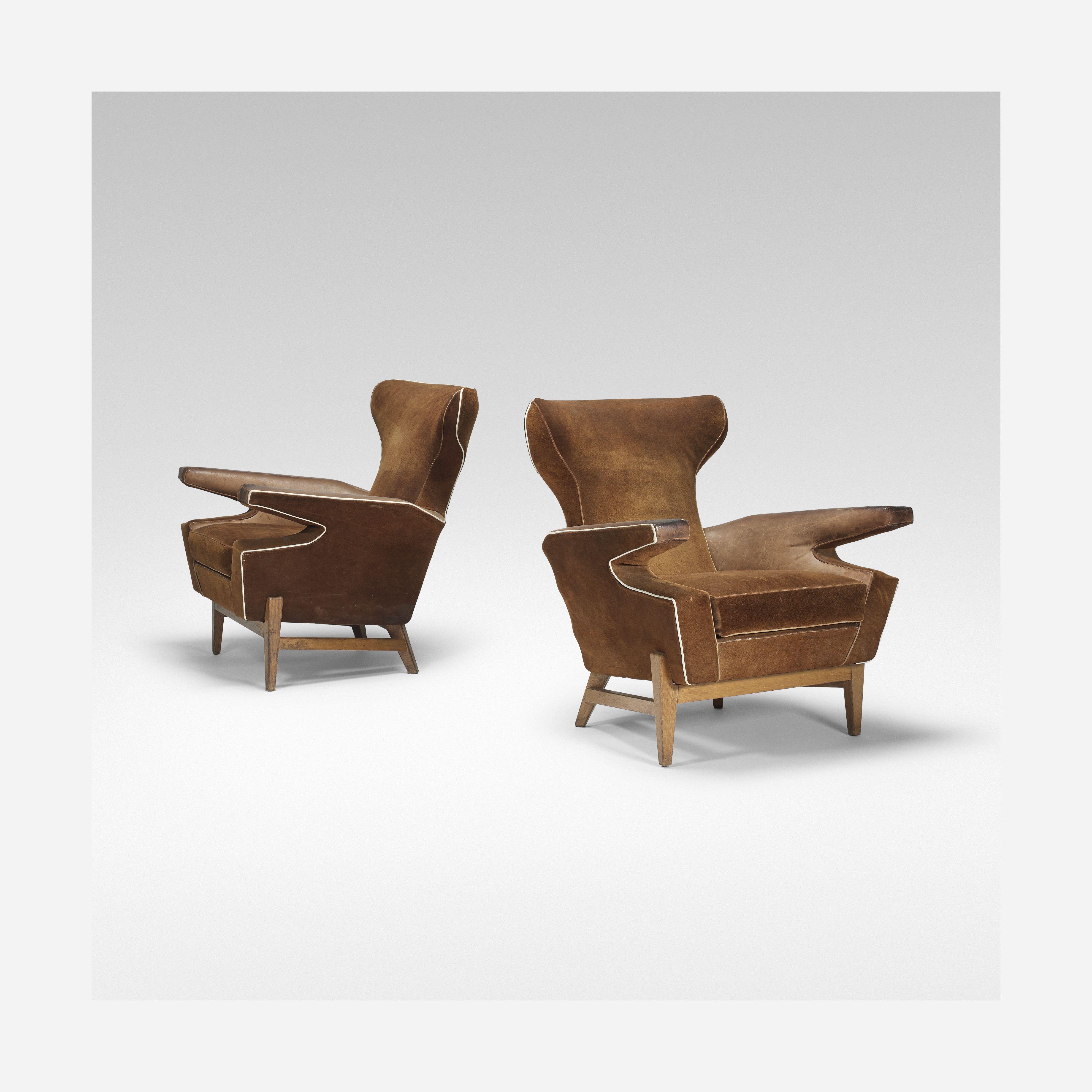 156: Danish / lounge chairs, pair < Blackman Cruz, 21 April 2015 ...