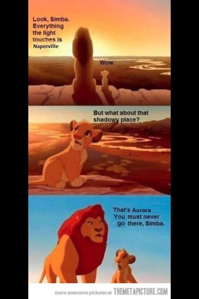 6452a2b6e3e81927bc1b0c541eb25e24 aurora vs naperville meme *i go to aurora, but this is hilarious