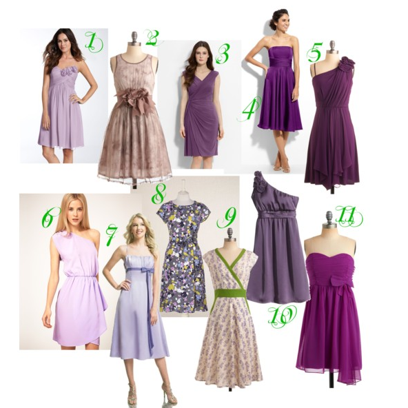 Personal shopper purple bridesmaid dresses for super nice for Country sheek wedding dresses