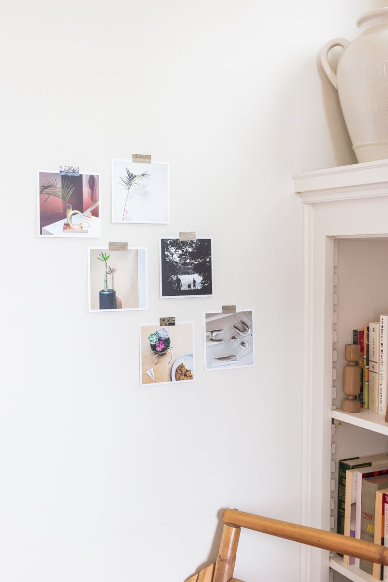 Mylar Tape to hang photos on the wall from Parabo Press