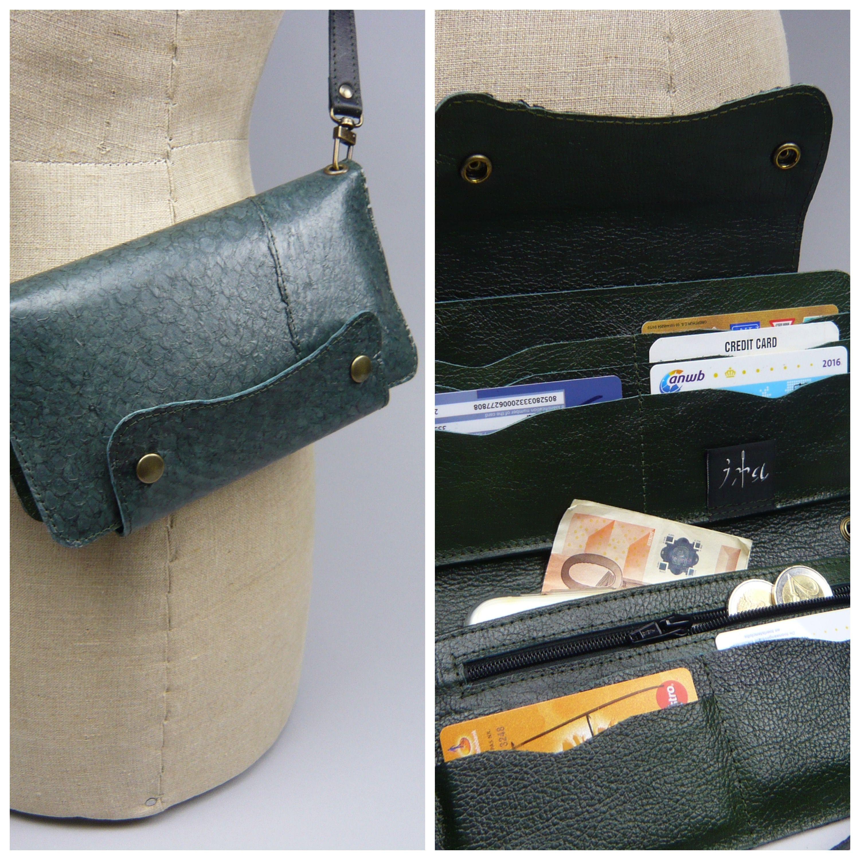 fb5463c936f Visleer,Nijlbaars clutch of portemonnee design by iratassen.nl ...