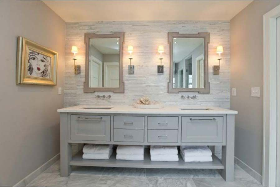 Vanities Bathroom Grey grey bathroom vanity, 12 foto | bathroom designs ideas | house