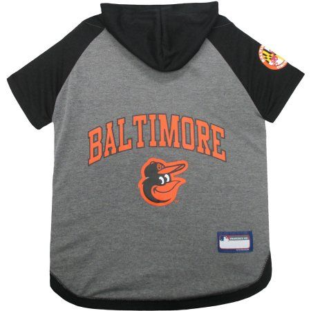new concept 0c0a1 20b33 Pets First MLB Baltimore Orioles Hoodie Tee Shirt ...