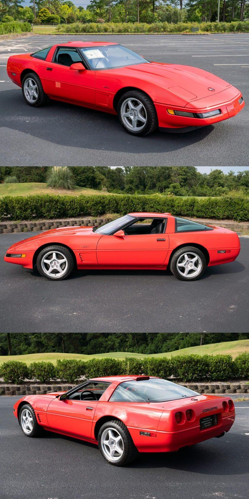 This 1995 Corvette Zr 1 Has Shockingly Low Mileage It S Also A Pretty Rare Find In 2020 Corvette Fastest Production Cars Mercury Marine