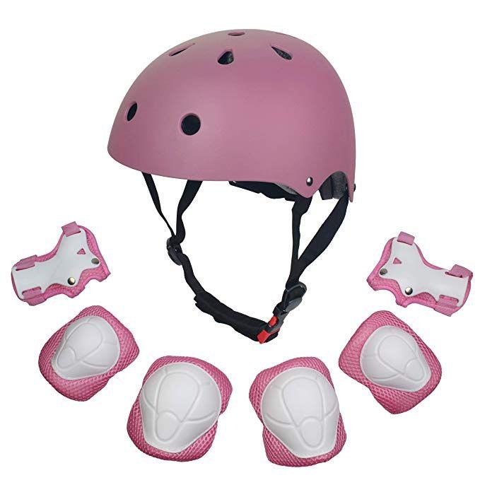 Kids 7pcs Adjustable Protective Gear Set Dostar Toddler Children