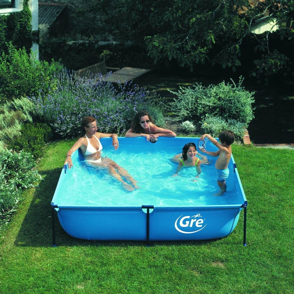 piscine enfant gre hors sol tubulaire jet pool junior. Black Bedroom Furniture Sets. Home Design Ideas