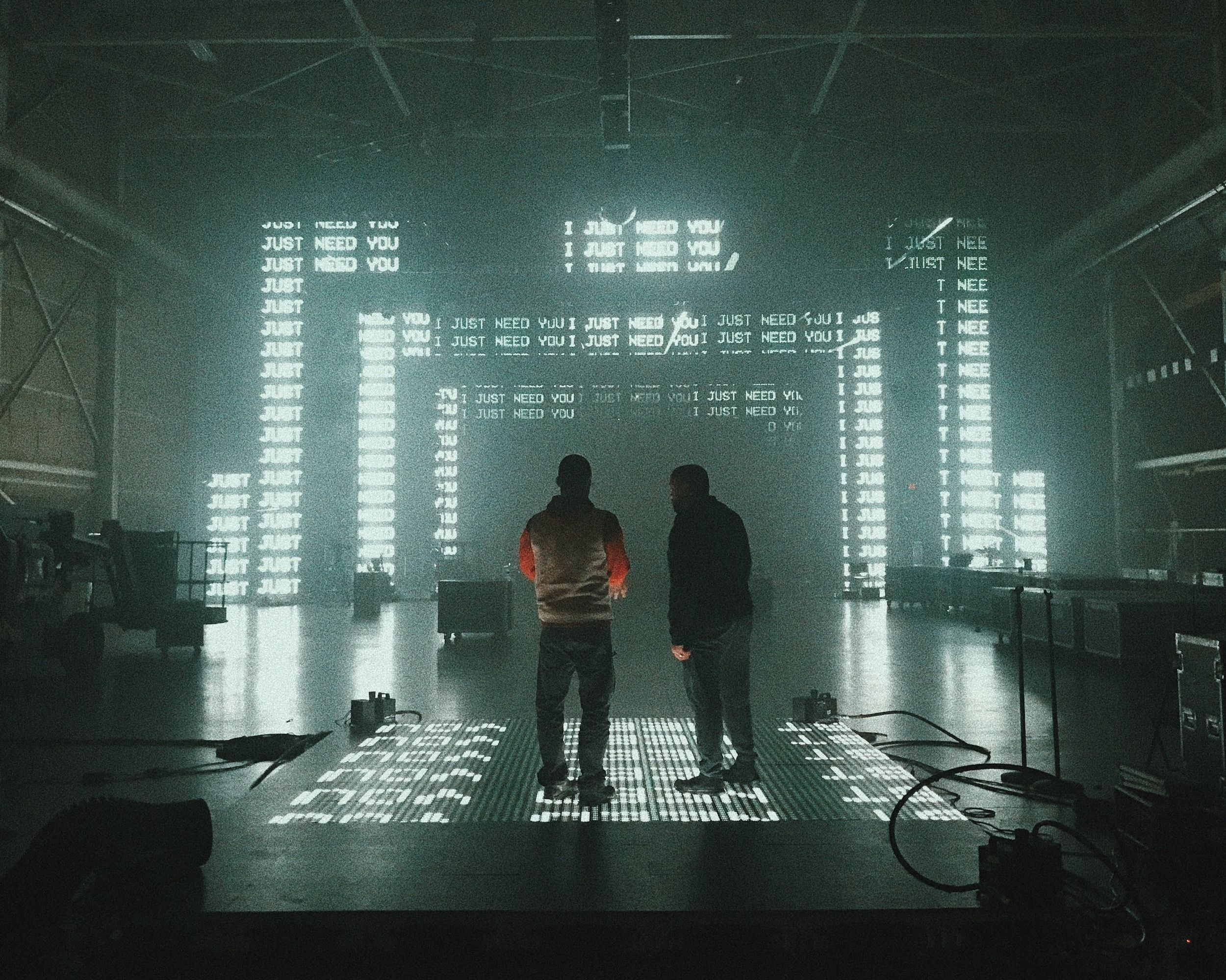 """Tour visuals created for Toby Mac's """"Hits Deep"""" tour 2019"""