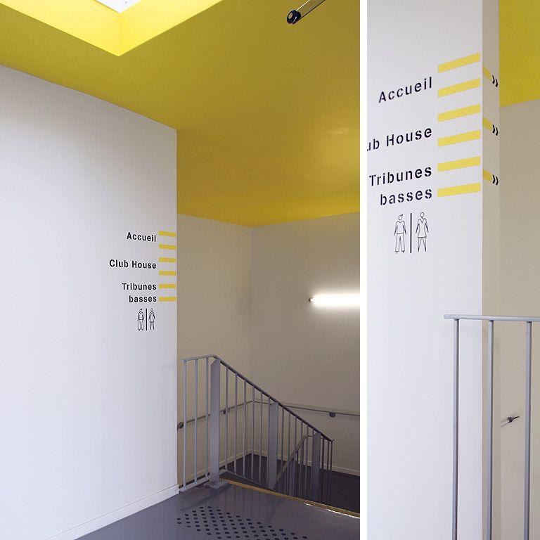 Populaire Signalétique salle multi activites mouvaux | Destination  GF91