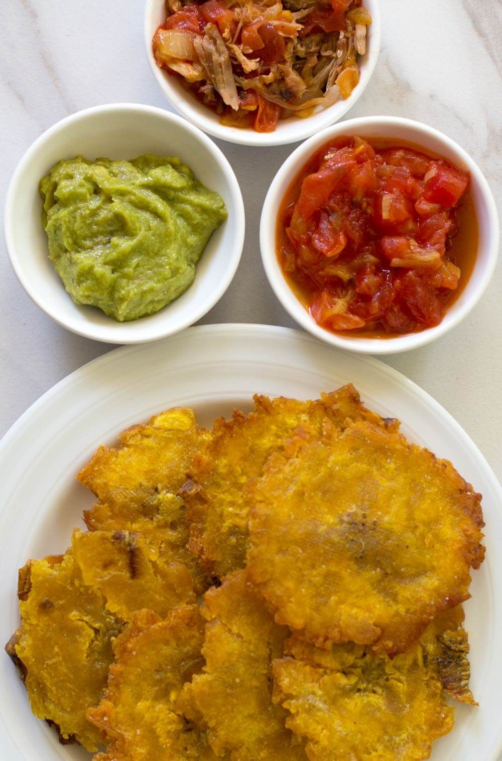 Easy Colombian Patacones Or Green Plantains Recipe Cuban Food
