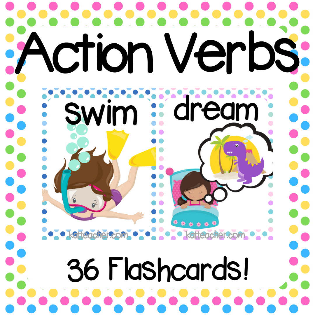 130 Beginner Action Verbs Movements Vocabulary Flashcards Esl Ell Young Learners Printable Flash Cards English Lessons For Kids Action Verbs [ 1080 x 1080 Pixel ]