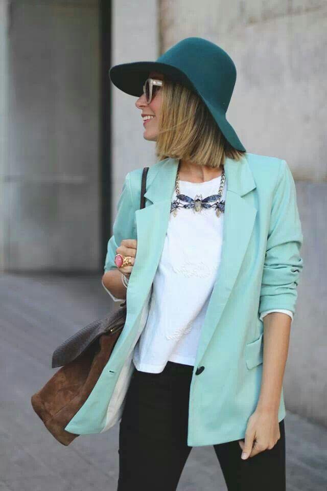@My Showroom Blog menta jacket