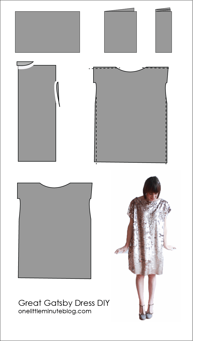 Great Gatsby Dress DIY | Sewing | Pinterest | Costura, Ropa y Patrones