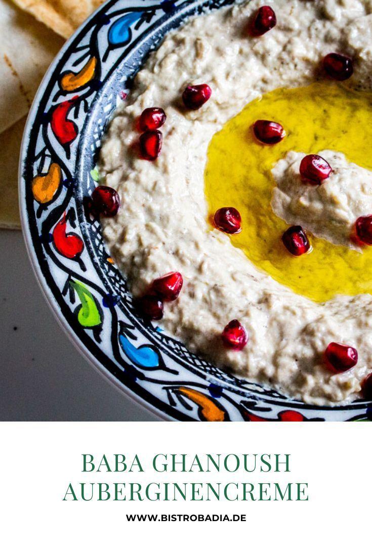 Baba Ghanoush - Auberginencreme - Das Rezept - Bistro Badia