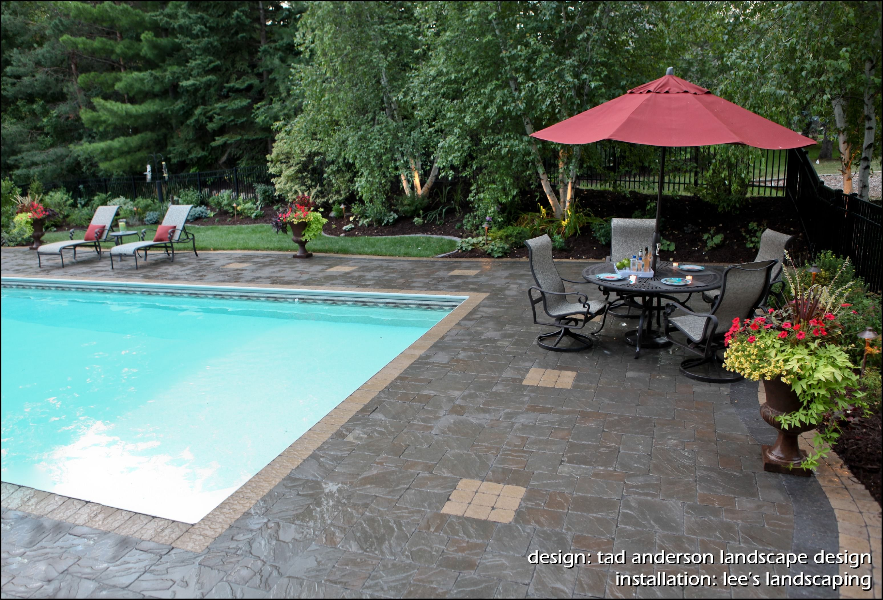 pool patio renovation 1 of 2 this existing swimming pool received