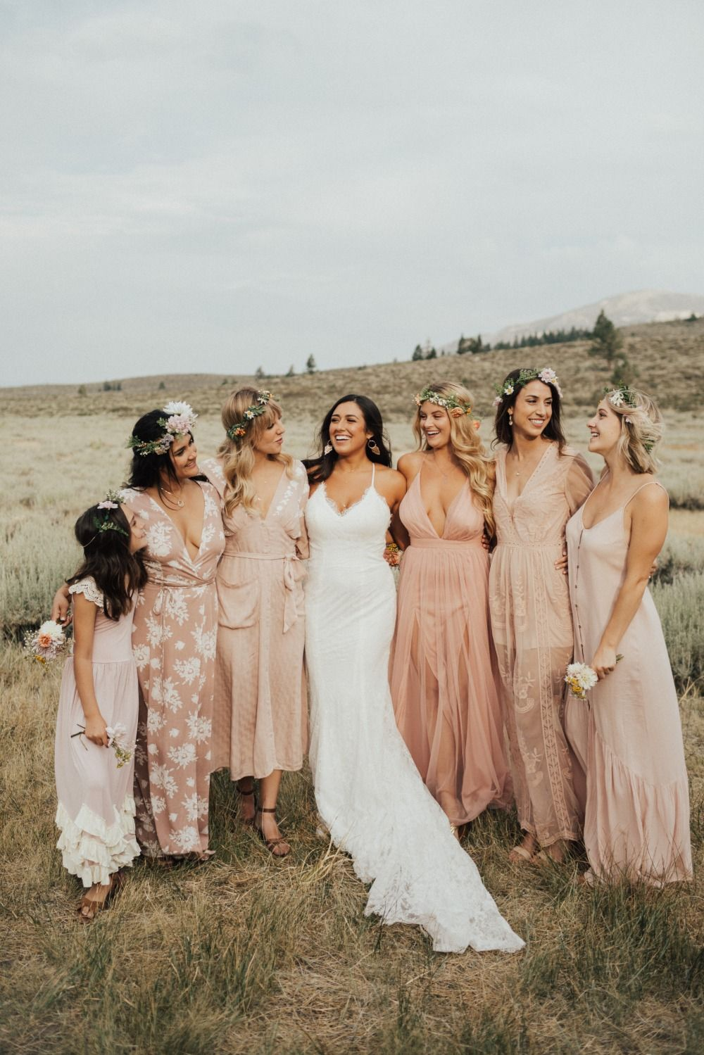 Organic Laid-back Wedding with Lots of DIY Inspiration
