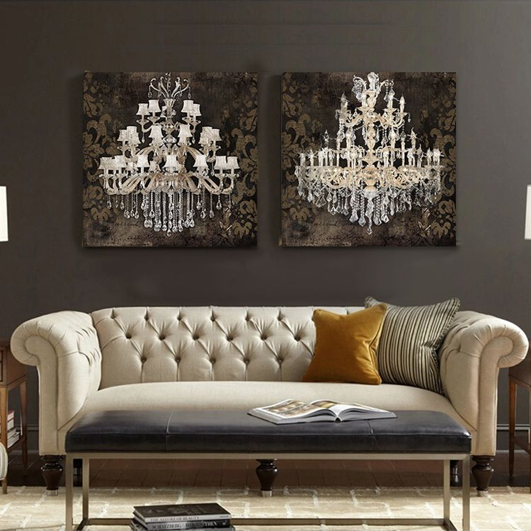 Art Prints For Kitchen On Sale At Reasonable Prices Buy Modern Still Life Painting Canvas Crystal Chandelier Pattern Retro Living Room Bedroom Wall