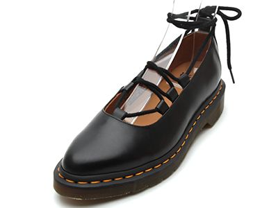 Dr.Martens(ドクターマーチン)CORE ELPHIE MARY JANE(16018001)BLACK POLISHED SMOOTH/ドクターマーチン福岡 (D.M.F)