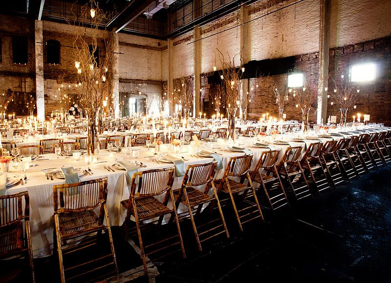 Industrial Warehouse Space Converted Into Wedding Hall Aria
