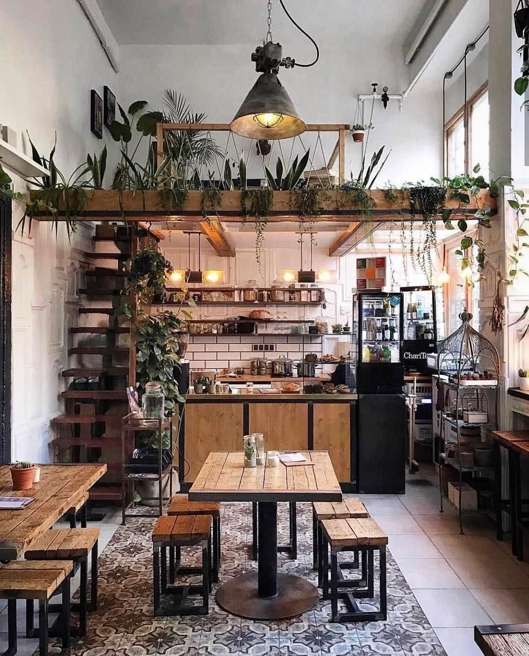 Tiny coffee shop in Cape Town, South Africa. Meyer ...