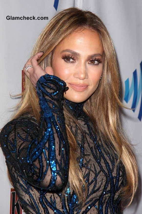 Jennifer Lopez 2014 Celebrity Hair Colors Celebrity