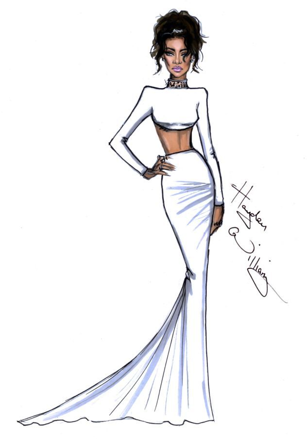 Photo of Cool Met Ball sketches show our favourite star's outfits