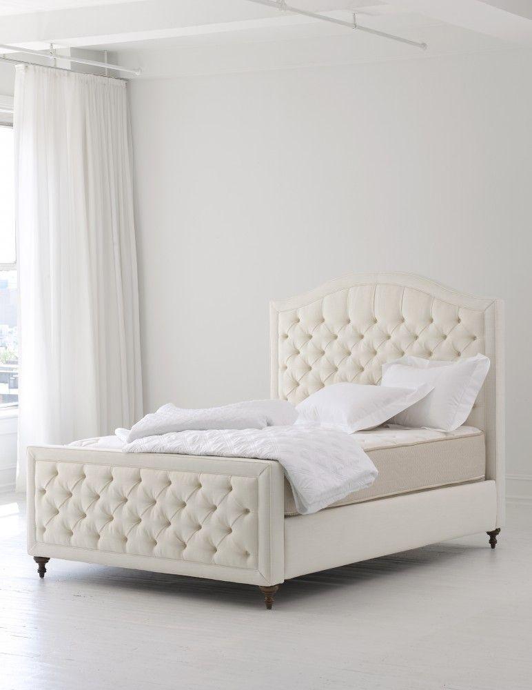 New Matouk Upholstered Beds   Heavenly Bedrooms   Pinterest ...