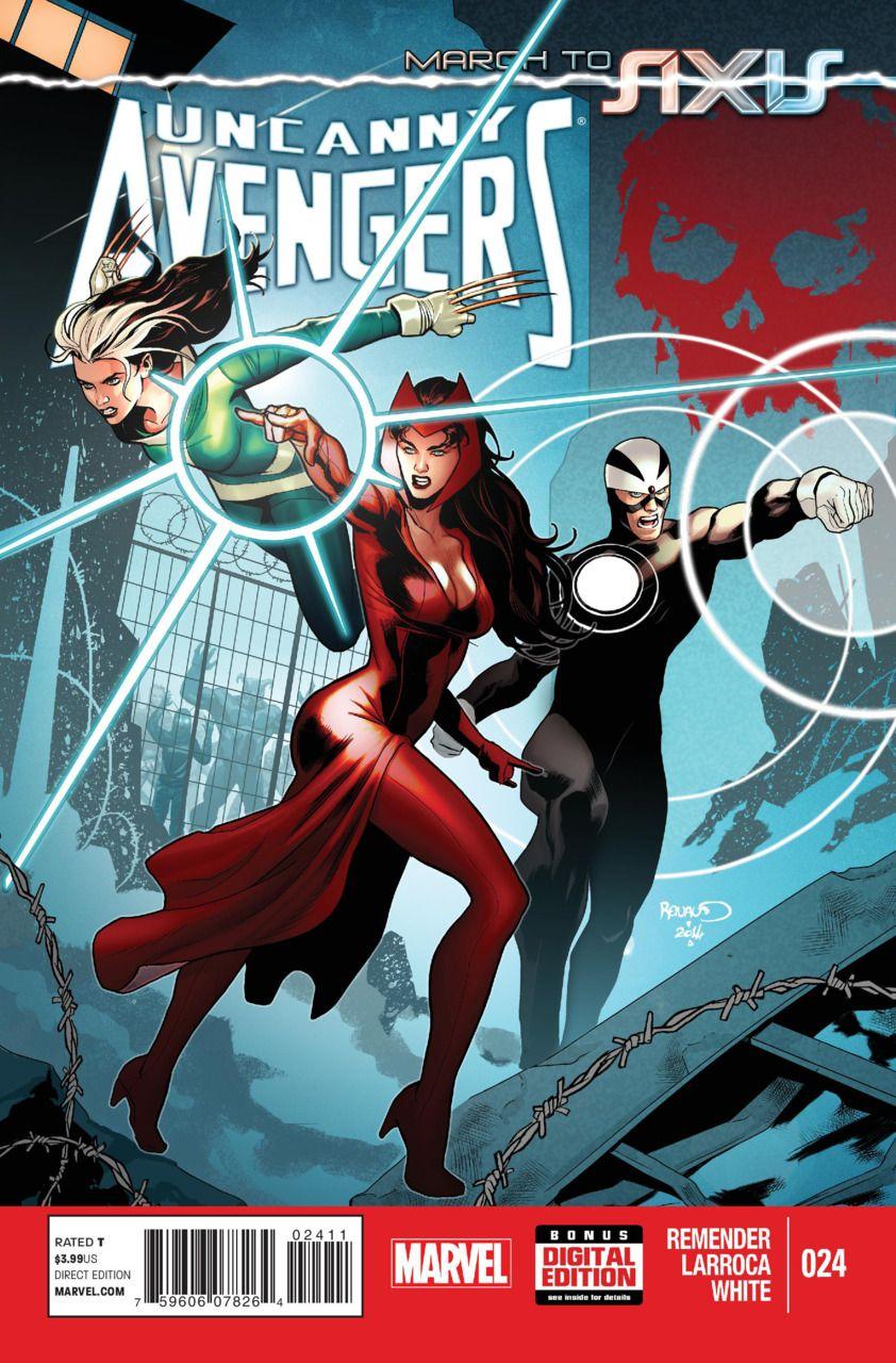 Uncanny Avengers # 24 by Paul Renaud