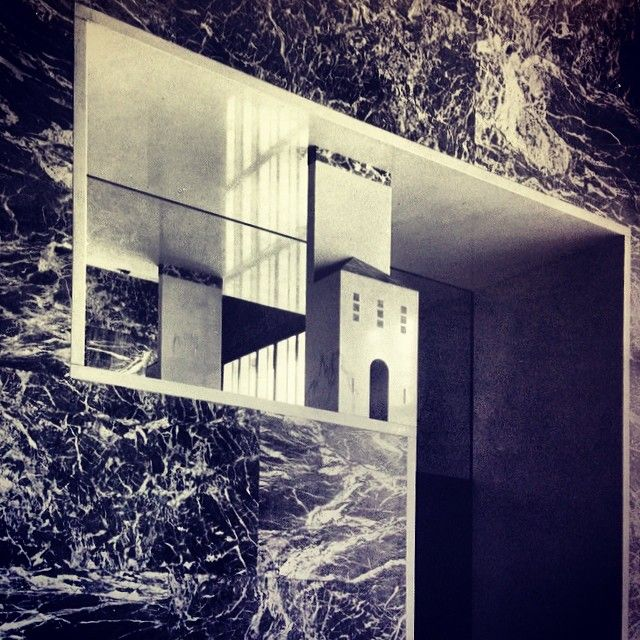 Portaluppi's non-column, door detail in house entry Roza Matveeva @rozamatveeva Instagram photos | Webstagram