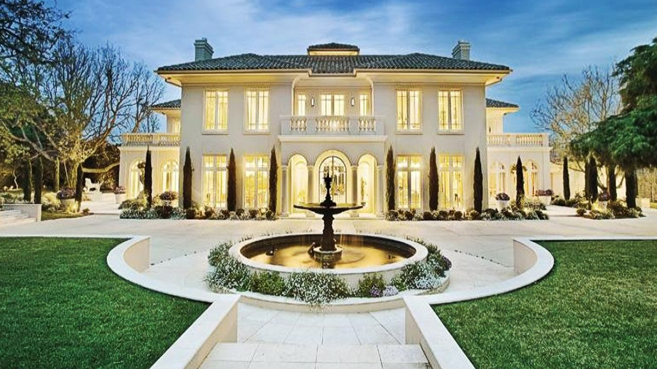 European inspired mansion at victoria australia keyword for Luxury homes victoria