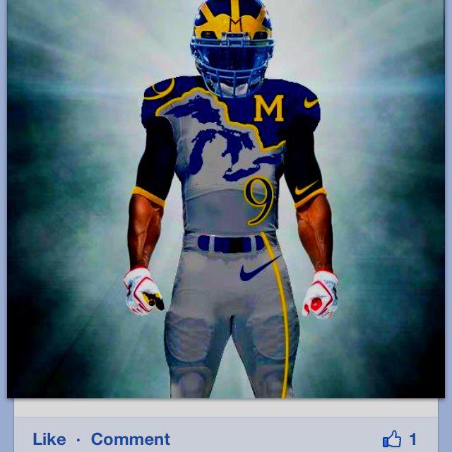 University Of Michigan Football Michigan Wolverines
