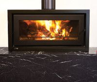 Kemlan Celestial 900 Freestander Wood Heater Wood Fireplace