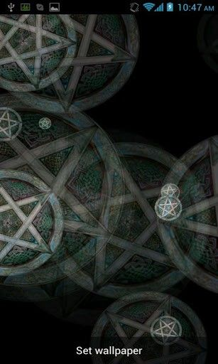 Pin By Amber April On Wiccan Pentagram Live Wallpapers