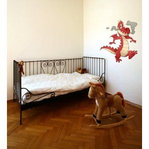 Dragon Baby Wall Decal Sticker Graphic Mural By LKS Trading Post
