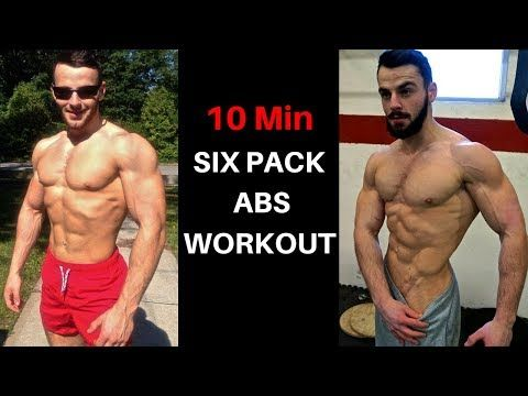 10 minute ab workout at home for men  no equipment