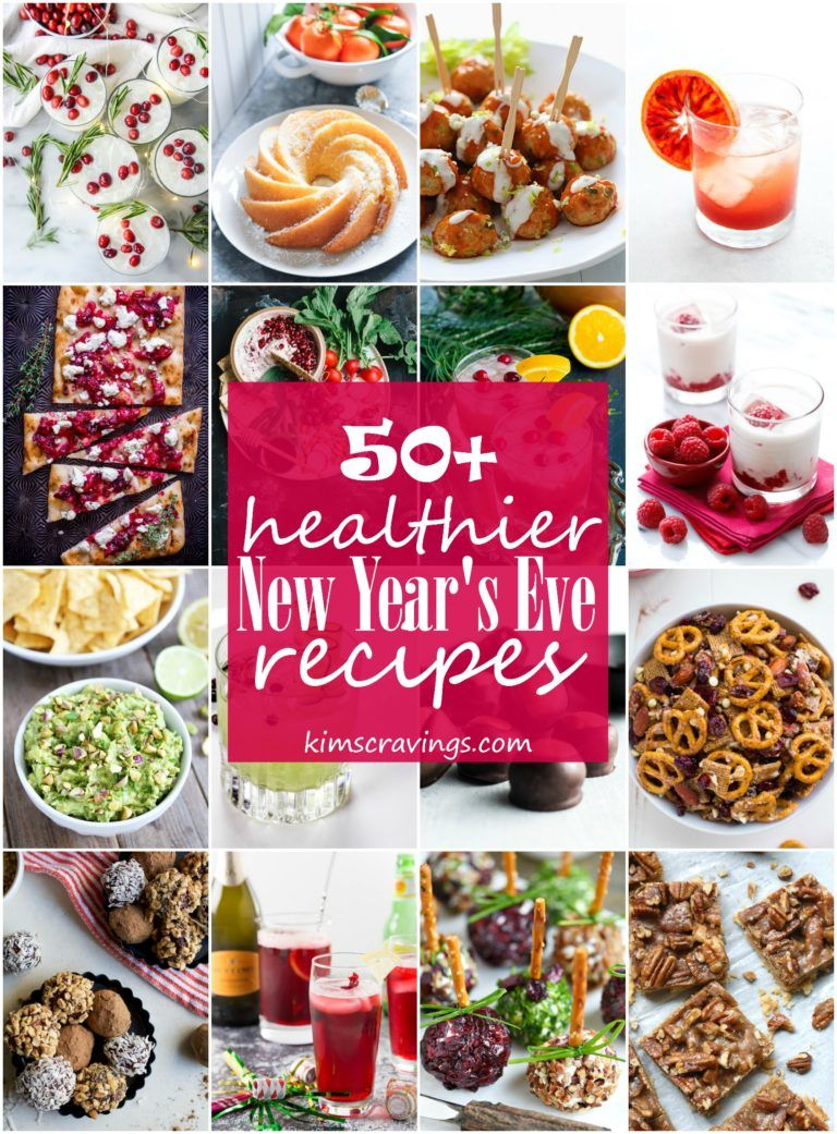 The Ultimate Healthy New Year S Eve Menu New Years Eve Party